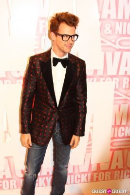 brad goreski in MAC Viva Glam Launch with Nicki Minaj and Ricky Martin