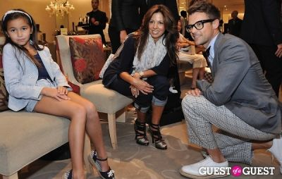brad goreski in Alexandre Birman at Saks Fifth Avenue