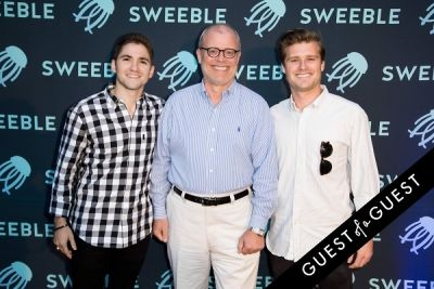 brad harrles in Sweeble Launch Event