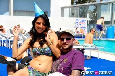 brandon francis in Pool Party at The Standard, Hollywood - The Social Strip's 1st Birthday at The Standard Hollywood