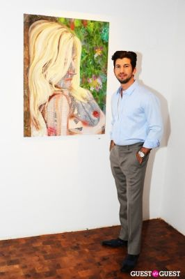 brandon freid in Billy Norwich, Gillian Hearst and the Sanctuary Hotel host party for artist Garrett Chingery