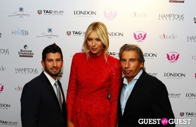 maria sharapova in Maria Sharapova Hosts Hamptons Magazine Cover Party At Haven Rooftop at the Sanctuary Hotel