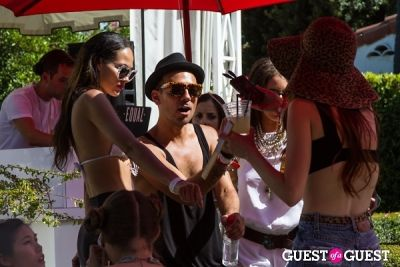 ashley hart in Coachella: GUESS HOTEL Pool Party at the Viceroy, Day 2