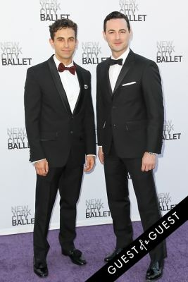 brandon uranowitz in NYC Ballet Fall Gala 2014