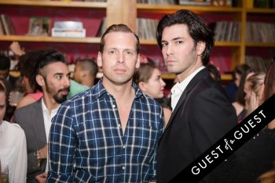 brandon and-christie in The Untitled Magazine Legendary Issue Launch Party