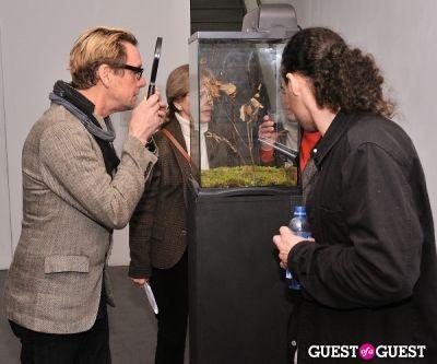 bret baughmann in Pia Dehne - Vanishing Act Exhibition Opening