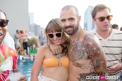 brett david in Scratch N' Splash Pool Party with Gab + Ab