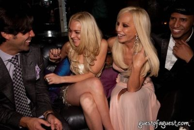 lindsay lohan in Whitney Studio Party