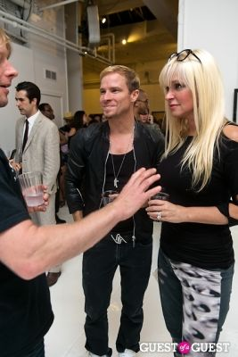brian littrell in Tyler Shields and The Backstreet Boys present In A World Like This Opening Exhibition