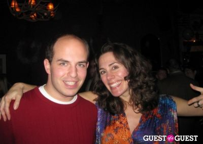 brian stelter in DonorsChoose Charitini Follow-On Round Birthday Party