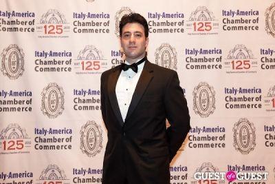 brian uribe in Italy America CC 125th Anniversary Gala