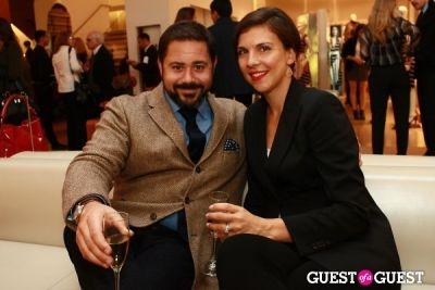 brian vitagliano in Salvatore Ferragamo & W Magazine Benefit