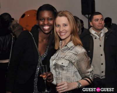 brigid owino in Veuve Clicquot celebrates Clicquot in the Snow