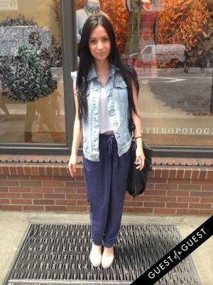 brigitte ayaz in Summer 2014 NYC Street Style