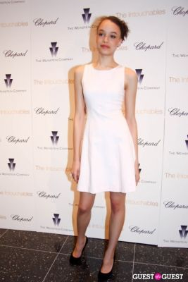 britne oldford in NY Special Screening of The Intouchables presented by Chopard and The Weinstein Company
