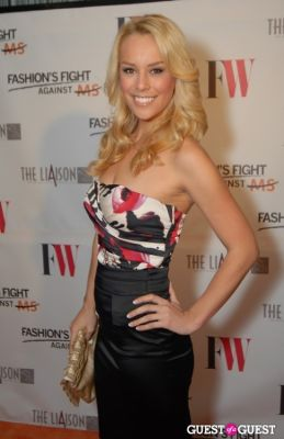 britt mchenry in Fashion's Fight Against MS