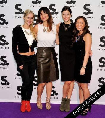 brittany hallberg in Stylight U.S. launch event
