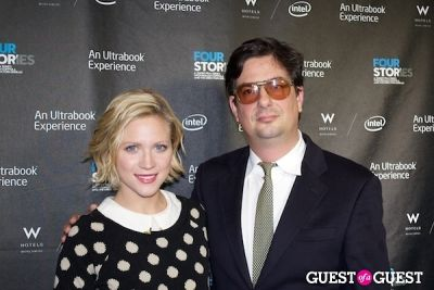 "brittany snow in W Hotels, Intel and Roman Coppola ""Four Stories"" Film Premiere"