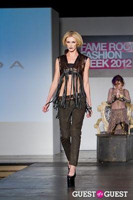 brittney kernan in Fame Rocks Fashion Week 2012 Part 11