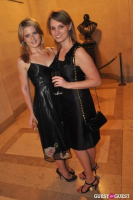 danika owsley in Frick Collection Spring Party for Fellows