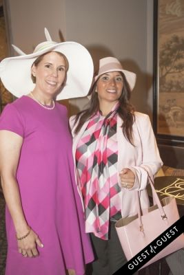 lynn versaci in Socialite Michelle-Marie Heinemann hosts 6th annual Bellini and Bloody Mary Hat Party sponsored by Old Fashioned Mom Magazine
