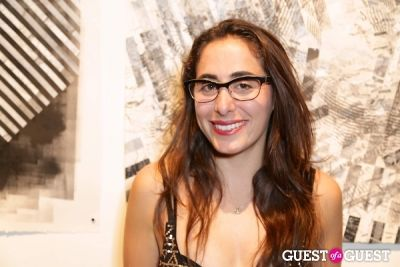 brooke gerson in IvyConnect Art Gallery Reception at Moskowitz Gallery