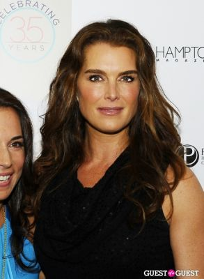 brooke shields in Hamptons Magazine Memorial Day Weekend Party