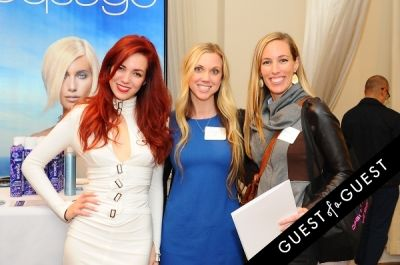 nina saunders in Beauty Press Presents Spotlight Day Press Event In November