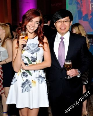 peng li in Metropolitan Museum of Art Young Members Party 2015 event