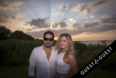 julie miranda in GUEST OF A GUEST x DOLCE & GABBANA Light Blue Mediterranean Escape In Montauk