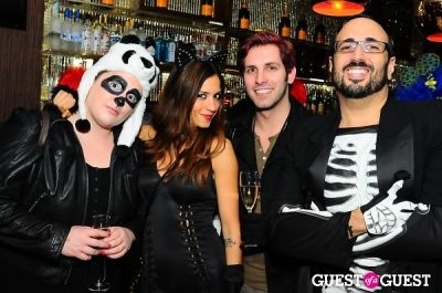 mauricio padilha in Patricia Field Aristo Halloween Party!