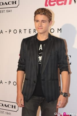 callan mcauliffe in 9th Annual Teen Vogue 'Young Hollywood' Party Sponsored by Coach (At Paramount Studios New York City Street Back Lot)