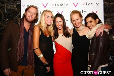 lara glaister in Very Vixely Hurricane Sandy Relief Party