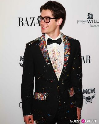 "cameron helm in Harper's Bazaar to Celebrate Cameron Silver & Christos Garkinos of Decades and Bravo's ""Dukes of Melrose"""