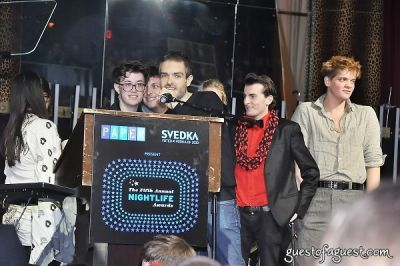 cameron moir in Paper Magazine 2009 Nightlife Awards