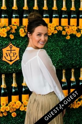 camilla luddington in The Sixth Annual Veuve Clicquot Polo Classic Red Carpet