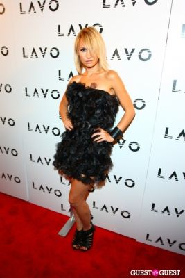camilla romestrand in Grand Opening of Lavo NYC