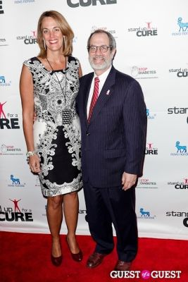 camille lee in Stand Up for a Cure 2013 with Jerry Seinfeld