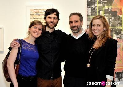 camille russo in Port and Out of Context Exhibition Opening