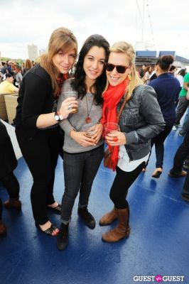 emily white in New York's 1st Annual Oktoberfest on the Hudson hosted by World Yacht & Pier 81