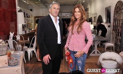 kelly bensimon in Campion Platt book signing at Calypso St. Barth Home