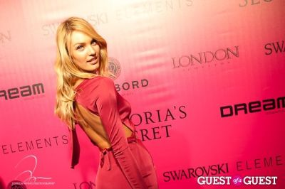 candice swanepoel in Victoria's Secret 2011 Fashion Show After Party