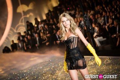 cara delevigne in Victoria's Secret Fashion Show 2013
