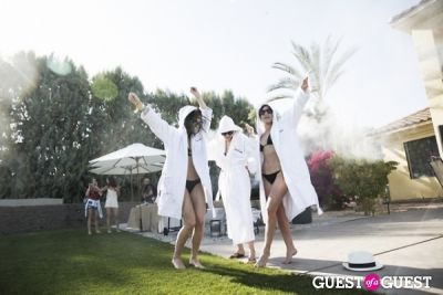 cara demichele in Coachella: Dolce Vita / J.D. Fisk House Party