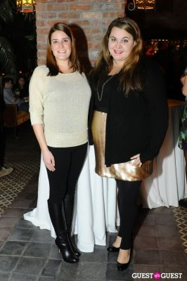 cara moccia in Roots & Wings' Silver & Gold Winter Party