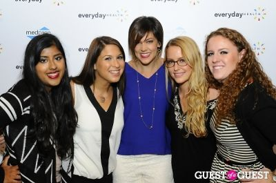 melissa graesser in The 2013 Everyday Health Annual Party