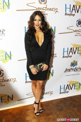 carissa rosario in Haven Rooftop ONE Year Anniversary
