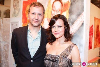 carla gugino in New York Academy of Art's 2013 Tribeca Ball