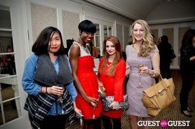 carlis sanchez in Vogue and Net-A-Porter 12-12-12 Party
