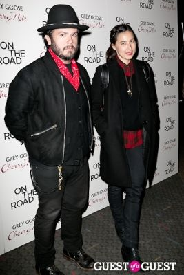 carlos quirarte in NY Premiere of ON THE ROAD